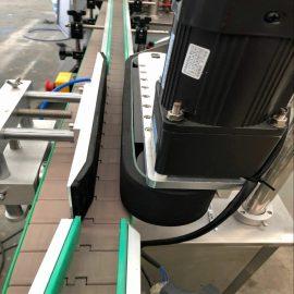 Detalles automáticos de la máquina de etiquetado de doble cara frontal y posterior