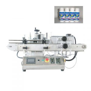 Máquina de etiquetado de posición de punto fijo de botella
