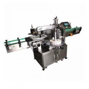 Máquina de etiquetado de bolsas de cuero
