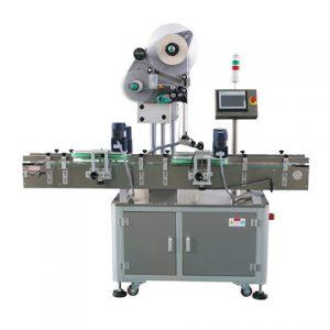 Máquina de etiquetado de productos de cara plana