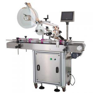 Máquina automática de etiquetado de bolsas de tela de la industria de la confección de pegatinas