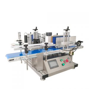 Máquina de etiquetado de etiquetas adhesivas para tubo de papel