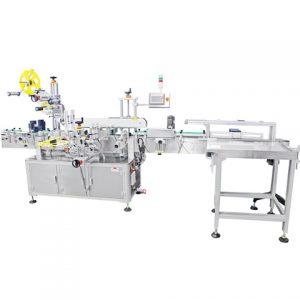 Máquina rotativa de etiquetado adhesivo de etiquetas