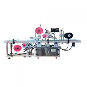 Máquina de etiquetado de latas de carne