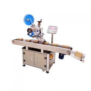 Máquina de etiquetado lateral superior de paletas