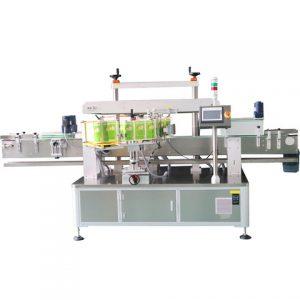 Máquina de etiquetado envolvente para botella redonda de vidrio
