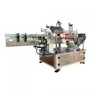 Máquina etiquetadora automática de desempañado superior de canastilla tipo clamshell
