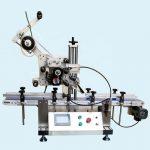 Máquina de etiquetado de tarro de aluminio superior inferior