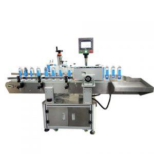Máquina de etiquetado de PVC con cremallera