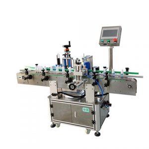 Máquina de etiquetado de tubos de extracción de sangre con adhesivo adhesivo